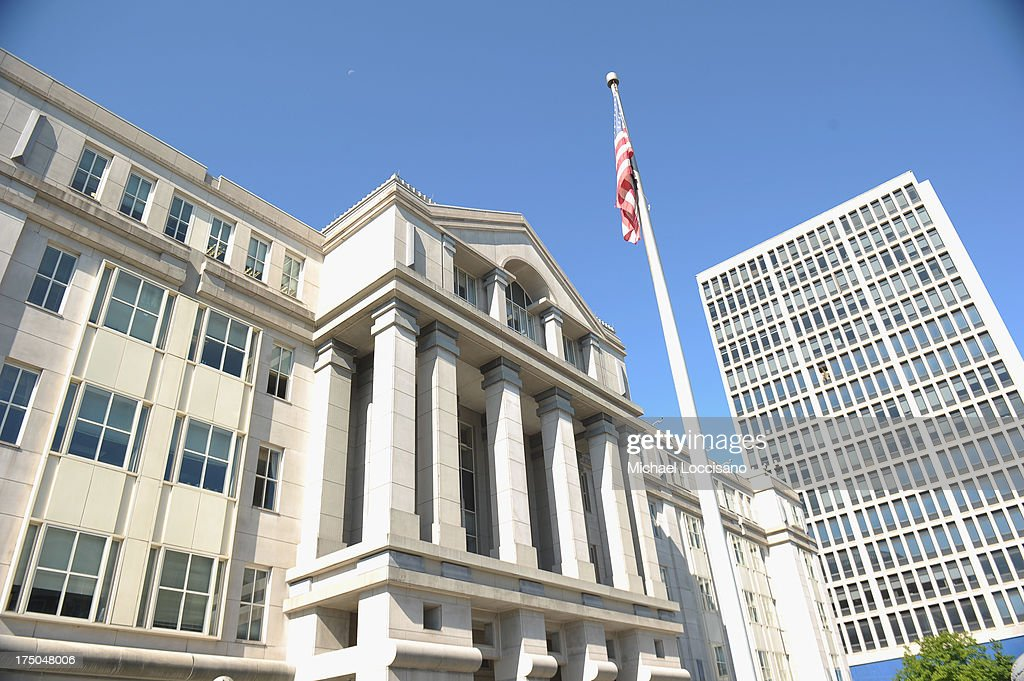 General view of Newark federal Court on July 30, 2013 in Newark, United States.