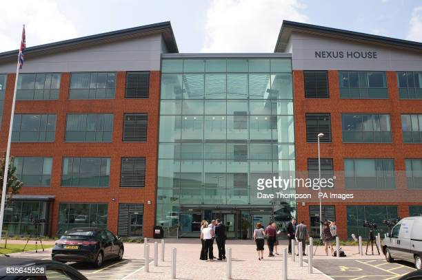 General view of Nexus House where the Serious and Organised Crime Division of Greater Manchester Police is based