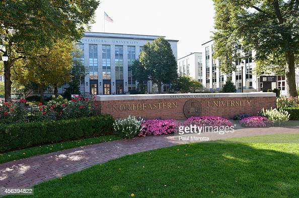 A general view of Northeastern University on September 30 2014 in Boston MA