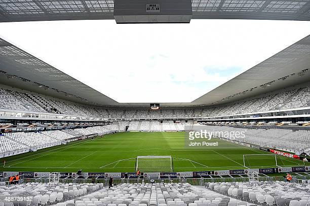 General view of Nouveau Stade de Bordeaux before the UEFA Europa League match between FC Girondins de Bordeaux and Liverpool FC on September 17 2015...