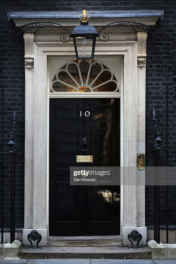 General election general views getty images for Front door 10 downing street
