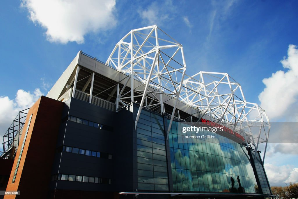 General View of Old Trafford home of Manchester United during the FA Barclaycard Premiership match on October 26 2002 between Manchester United and...