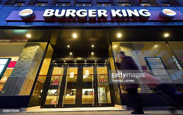 A general view of one of the 89 Burger King restaurants operated by the YiKo Holding franchise on November 24 2014 in Frankfurt Germany Burger King...