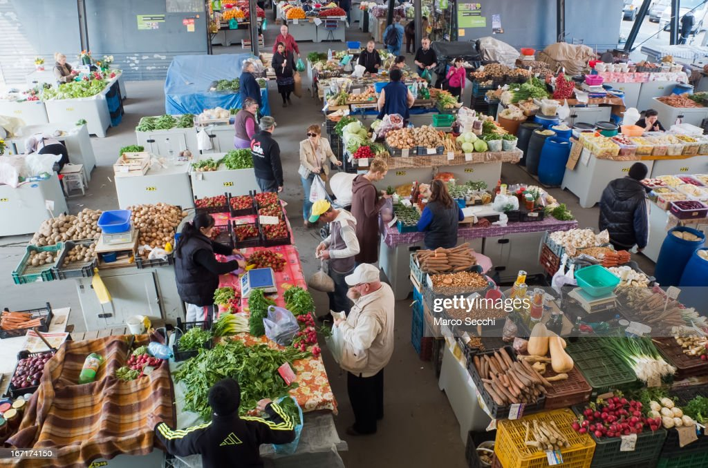 A general view of one of the daily Markets seen on April 15, 2013 in Timisoara, Romania. Romania has abandoned a target deadline of 2015 to switch to the single European currency and will now submit to the European Commission a programme on progress towards the adoption of the Euro, which for the first time will not have a target date.