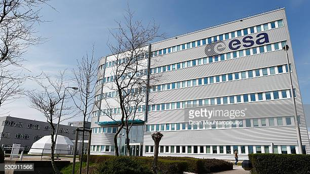 A general view of one of the main buildings containing the Materials and Processes Division / Mechanical Testing Laboratory at the European Space...