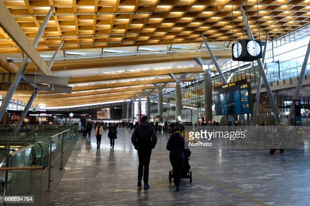 A general view of Oslo Airport Gardermoen on March 11 2017