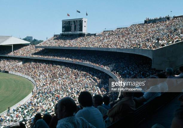 A general view of part of the crowd watching the 3rd Test match between Australia and West Indies at the MCG Melbourne 26th December 1975 The...