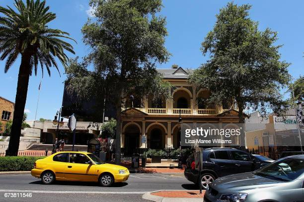 A general view of Peel Street as seen on January 30 2017 in Tamworth Australia Tamworth is a large regional city in the New England region of...