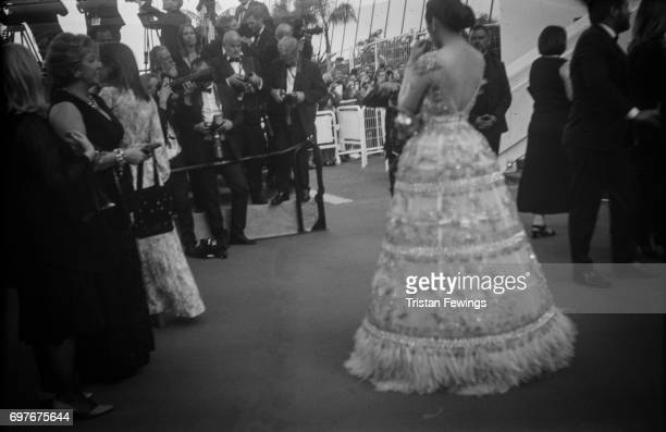 A general view of people on the red carpet during the 70th Annual Cannes Film Festival on June 1 2017 in Cannes France To celebrate the 70th...