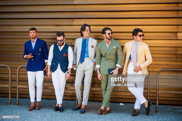 A general view of Pitti Immagine Uomo 92 at Fortezza Da Basso on June 13 2017 in Florence Italy