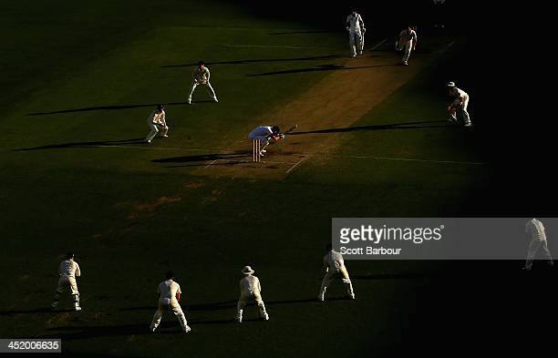 A general view of play during day four of the First Ashes Test match between Australia and England at The Gabba on November 24 2013 in Brisbane...