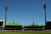 A general view of play during day three of the Second Test match between Australia and Pakistan at Sydney Cricket Ground on January 5 2010 in Sydney...