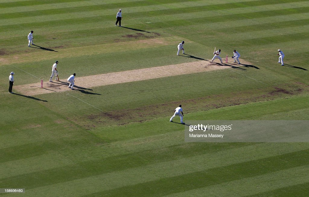 A general view of play during day two of the Third Test match between Australia and Sri Lanka at Sydney Cricket Ground on January 4, 2013 in Sydney, Australia.