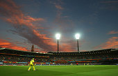 A general view of play during the 2015 Cricket World Cup Semi Final match between Australia and India at Sydney Cricket Ground on March 26 2015 in...