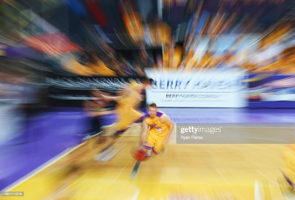 A general view of play during the round one NBL match between the Sydney Kings and the Cairns Taipans at Qantas Credit Union Arena on October 10, 2015 in Sydney, Australia.