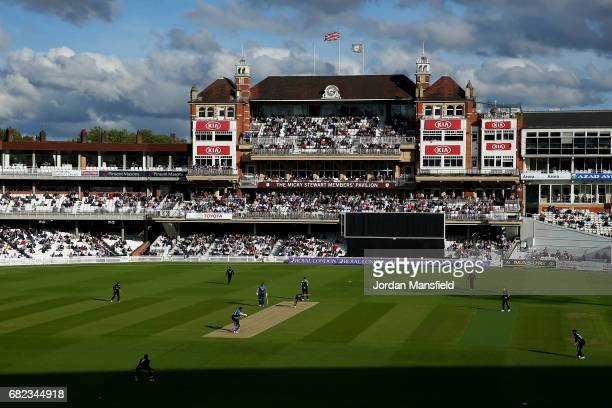 A general view of play during the Royal London OneDay Cup match between Surrey and Kent at The Kia Oval on May 12 2017 in London England