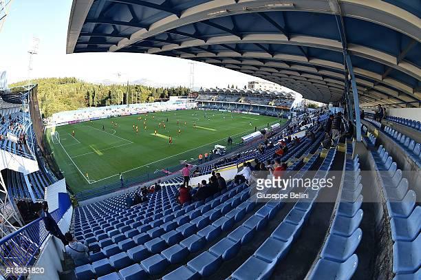 General view of Podgorica City Stadium prior the FIFA 2018 World Cup Qualifier between Montenegro and Kazakhstan at Podgorica City Stadium on October...