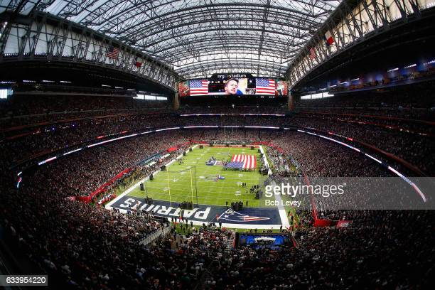 A general view of pre game during Super Bowl 51 at NRG Stadium on February 5 2017 in Houston Texas