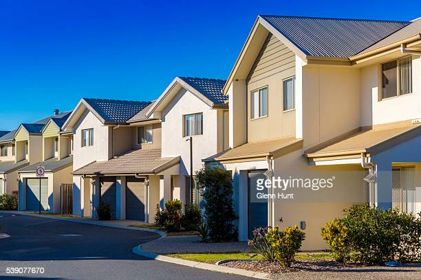 A general view of properties at North Lakes on June 10 2016 in Brisbane Australia Economic forecasts suggest Brisbane is on track to overtake...