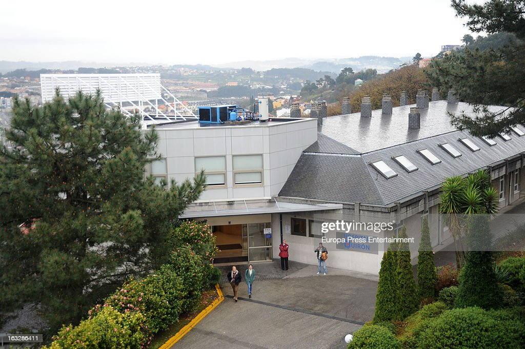 General view of Quiron Hospital where Marta Ortega gave birth her first son Amancio Alvarez at on March 6, 2013 in A Coruna, Spain.