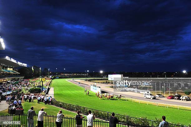 General view of Race 7 during Melbourne Racing at Moonee Valley Racecourse on January 3 2015 in Melbourne Australia