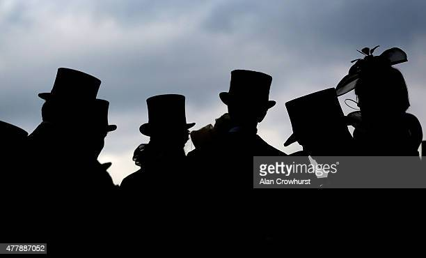 A general view of racegoers during Royal Ascot 2015 at Ascot racecourse on June 20 2015 in Ascot England