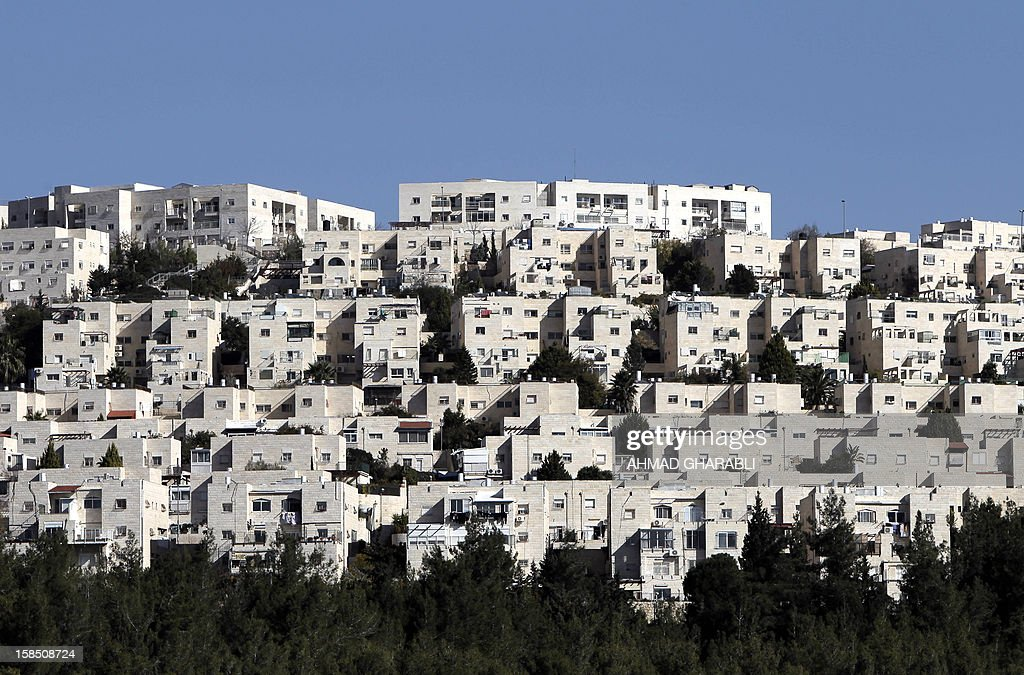 A general view of Ramat Shlomo, a Jewish settlement in the mainly Palestinian eastern sector of Jerusalem, seen on December 18 2012. Israeli planning committees are to weigh several plans for nearly 5,000 new settler homes in neighbourhoods of annexed east Jerusalem this week, with at least one major project set for final approval. The four projects are up for discussion after Israel gave the green light for the construction of 1,500 homes in the east Jerusalem neighbourhood of Ramat Shlomo, in a move which has already drawn sharp US criticism.
