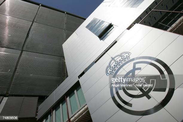 A general view of Real Madrid's Santiago Bernabeu stadium on April 27 2006 in Madrid Spain