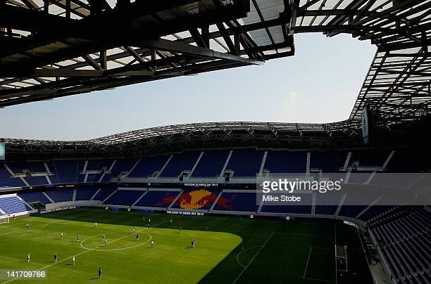 A general view of Red Bull Arena during Media Day at Red Bull Arena on March 22 2012 in Harrison New Jersey