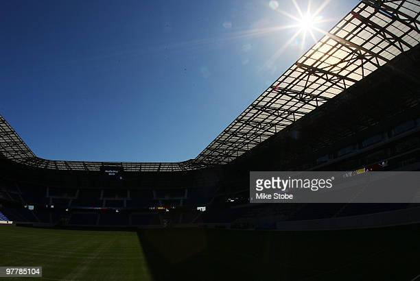 A general view of Red Bull Arena during media day on March 16 2010 in Harrison New Jersey