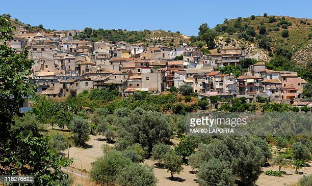 A general view of Riace in the southern Italian region of Calabria on June 22 2011 The village of 1800 inhabitants greeted a few years ago some 200...
