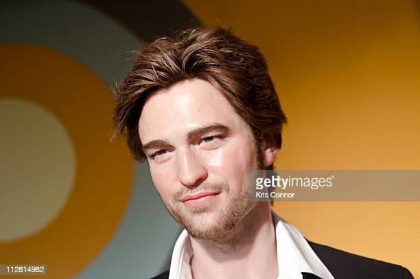 General view of Robert Pattinson's wax figure unveiling at Madame Tussauds on April 22 2011 in Washington DC