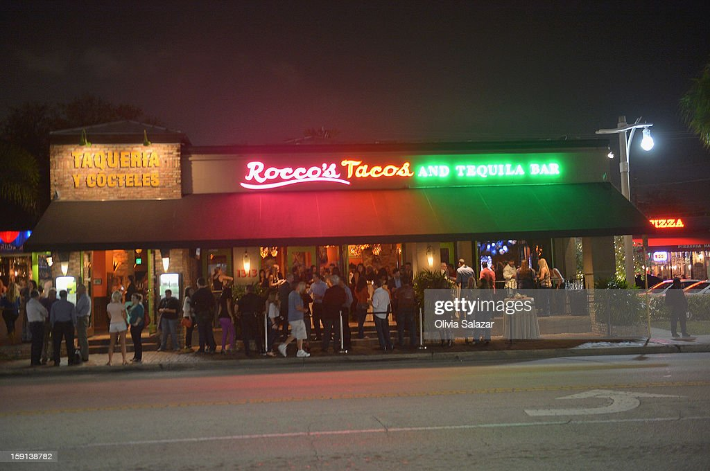 General view of Rocco's Tacos on January 8, 2013 in Fort Lauderdale, Florida.