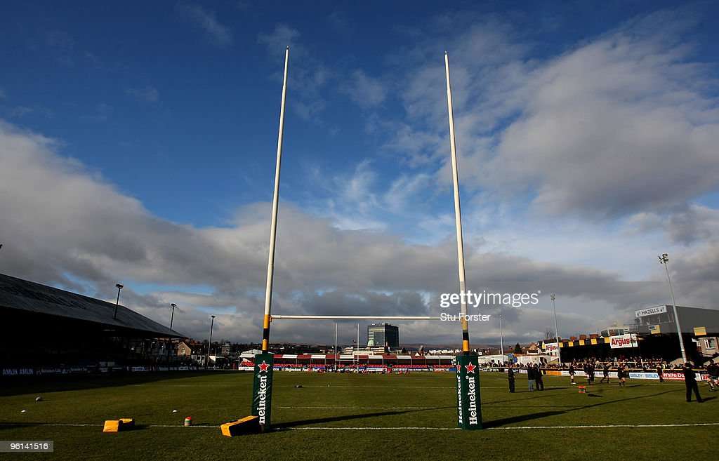 A general view of Rodney Parade before the Heineken Cup Pool 2 Round 6 match between Newport Gwent Dragons and Gloucester at Rodney Parade on January...