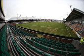 A general view of Rodney Parade prior to the Sky Bet League Two match between Newport County and Northampton Town at Rodney Parade on January 4 2014...