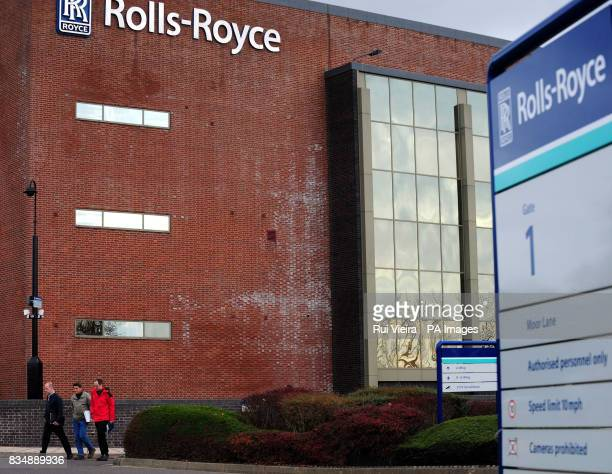 A general view of RollsRoyce headquarters in Derby after it was announced that the firm plans to cut up to 2000 jobs worldwide including 140 in the...