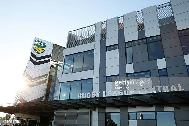 A general view of Rugby League Central the home of the NRL during a NRL press conference at NRL Headquarters on July 10 2014 in Sydney Australia