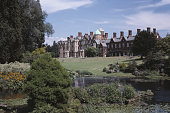 A general view of Sandringham house a country house which is privately owned by the British royal family Sandringham Norfolk August 1982
