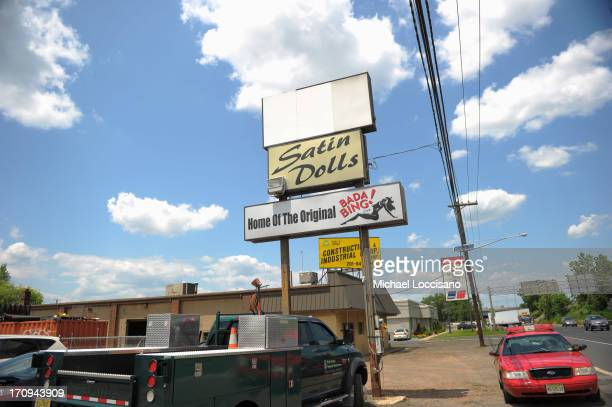 General view of Satin Dolls the location used for Bada Bing in the filming of 'The Sopranos' June 20 2013 in Lodi New Jersey Gandolfini passed away...