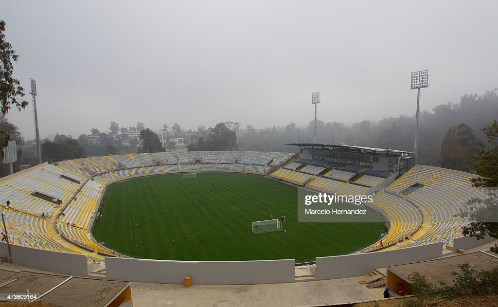 General view of Sausalito Stadium on May 17 2015 in Viña del Mar Chile Viña del Mar will be one of the eight host cities of the Copa America Chile...