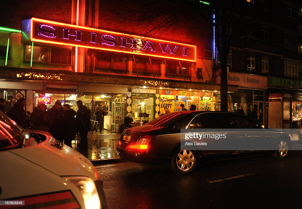 A general view of Shishawi Restaurant visited by Justin Bieber and his rumored girlfriend Ella Paige Roberts on February 28, 2013 in London, England.