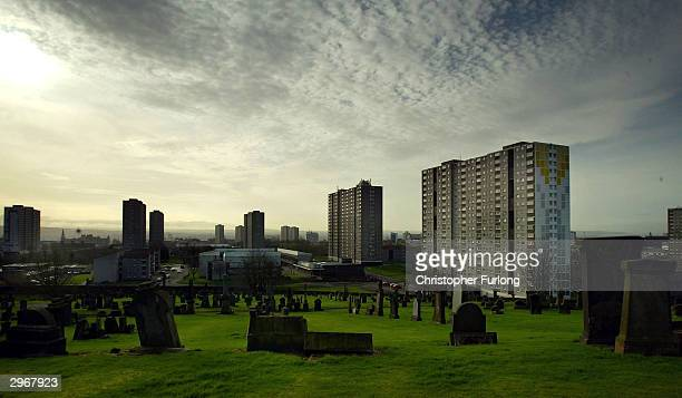 A general view of Sighthill housing estate which currently contains hundreds of migrant families and where any further influx to the city would...