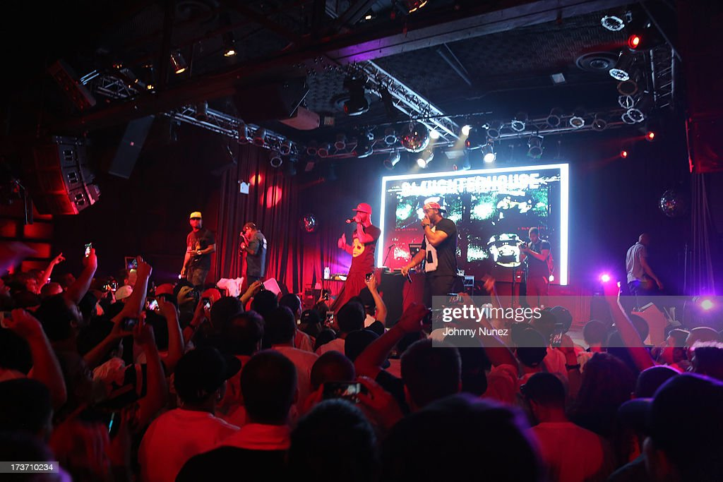 A general view of Slaughterhouse in Concert at Highline Ballroom on July 16, 2013 in New York City.