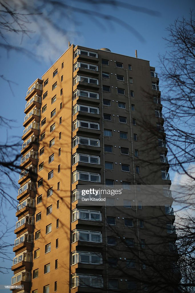 A general view of social housing near Herne Hill on January 30, 2013 in London, England. According to a report from independent analysts Oxford Economics, the average mortgage deposit for first-time buyers in London, is likely to exceed £100,000 GBP by 2020.