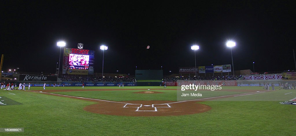 General view of Sonora Stadium during a match between Mexico and Puerto Rico for the Caribbean Series 2013 on February 6, 2013 in Hermosillo, Mexico.