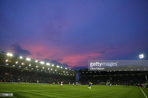 A general view of St Andrews during the FA Barclaycard Premiership match between Birmingham City and Arsenal held on January 12 2003 at St Andrews in...