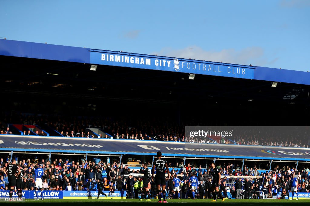 A general view of St Andrews during the Sky Bet Championship match between Birmingham City and Aston Villa at St Andrews (stadium) on October 29, 2017 in Birmingham, England.