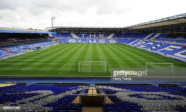 General view of St Andrews prior to kick off during the Sky Bet Championship match between Birmingham City and Queens Park Rangers at St Andrews on...