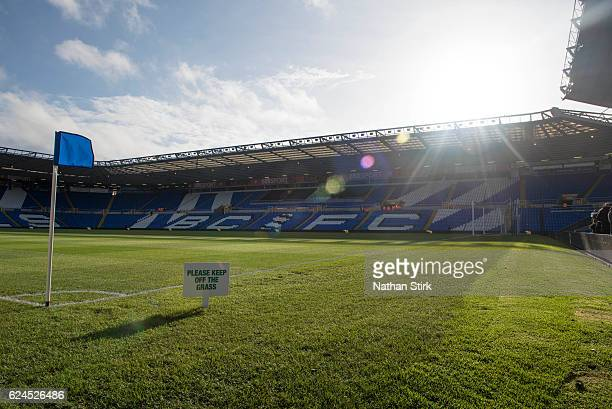 General view of St Andrews Stadium before the Sky Bet Championship match between Birmingham City and Bristol City on November 19 2016 in Birmingham...