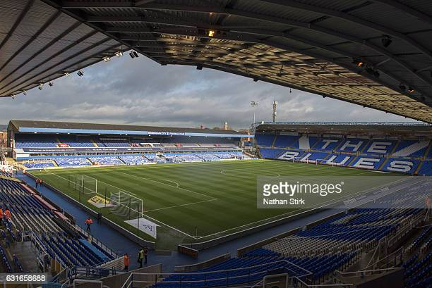 General view of St Andrews Stadium before the Sky Bet Championship match between Birmingham City and Nottingham Forest on January 14 2017 in...